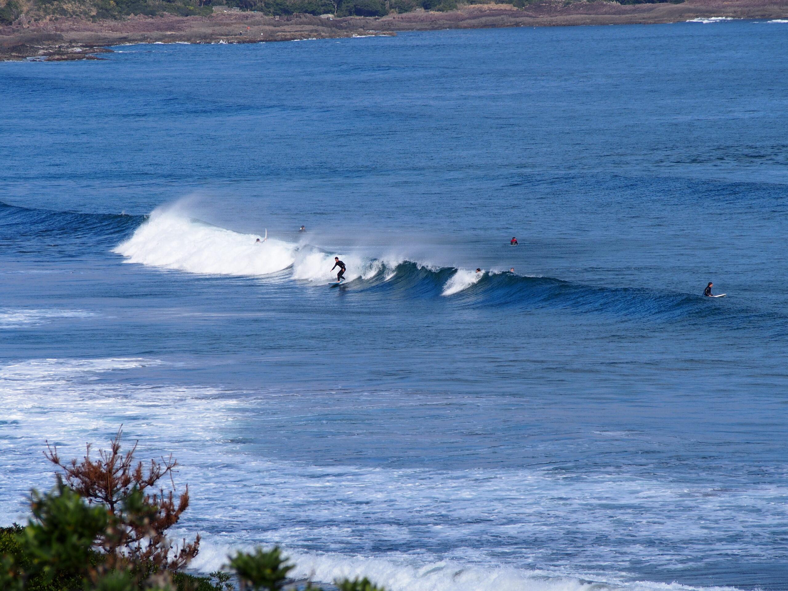 宮崎でのんびりサーフィンするなら木崎浜・青島よりも日向がおすすめ!